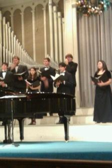 Choir for the win.